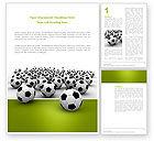 Sports: Football Championship Word Template #03192