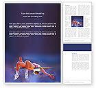 Sports: 워드 템플릿 - 높이 뛰다 #03200