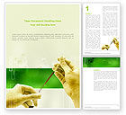 Medical: Chemical And Biology Tests Word Template #03204