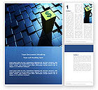 Financial/Accounting: Dollar Rate Word Template #03215