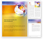 Global: Info Sphere Word Template #03227