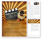 Art & Entertainment: Films and Cinema Word Template #03230