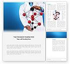 Technology, Science & Computers: Modèle Word de molécule modèle d'hydrocarbure #03257