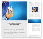 Business Concepts: One Piece Word Template #03268