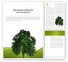 Nature & Environment: Modèle Word de arbre mondial #03271