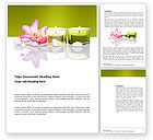 Careers/Industry: SPA Treatment Word Template #03328