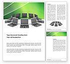 Technology, Science & Computers: Modelo do Word - rede de negócios #03336