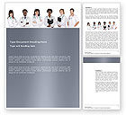 Medical: Medical Interns Word Template #03390