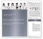 Medical: Medizinische praktikanten Word Vorlage #03390