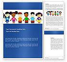 Education & Training: Childhood Word Template #03391