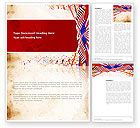 Holiday/Special Occasion: Free 4th of July Celebration Word Template #03392