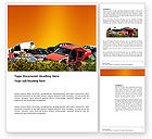Utilities/Industrial: Car Dump Word Template #03394