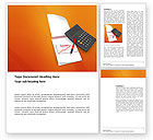 Financial/Accounting: Financial Analytics Word Template #03400