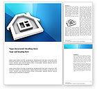 3D: Haus-symbol Word Vorlage #03410