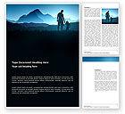 Religious/Spiritual: Starting Point Word Template #03429