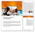 Business: 有效的客户关系管理Word模板 #03437