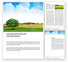 Nature & Environment: Country Paysage Word Template #03441