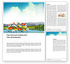 Nature & Environment: Lake Word Template #03462