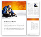 Education & Training: Computer Literacy Word Template #03473