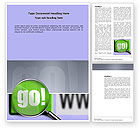 Telecommunication: Search Engine Word Template #03497
