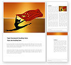 Sports: Olympiad in China Word Template #03511