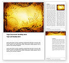 Abstract/Textures: Fairy Tale Word Template #03523