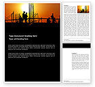 Construction: Builders Word Template #03530