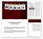 Financial/Accounting: Money Cleaning Word Template #03541