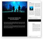 Education & Training: Ozeanarium Word Vorlage #03586