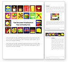 Food & Beverage: Fast Food Ingredients Word Template #03614