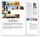 Careers/Industry: Plantilla de Word - de viaje #03640