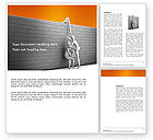 Business Concepts: Helping To Escape Word Template #03647