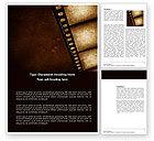 Careers/Industry: Movie Strip Word Template #03652