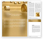 Agriculture and Animals: Plantilla de Word - tiempo de cosecha #03654