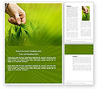 Agriculture and Animals: Plant Breeding Word Template #03655