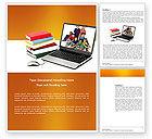 Education & Training: 워드 템플릿 - 컴퓨터 연구 #03659