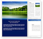 Nature & Environment: Landscape Word Template #03688