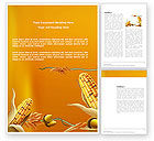 Agriculture and Animals: Harvest of Autumn Word Template #03689