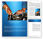 Utilities/Industrial: Engine Word Template #03698