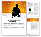 Education & Training: Student Mathematics Word Template #03717