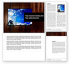 Business Concepts: Window Word Template #03737