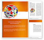 Sports: World Cup Word Template #03743