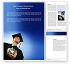 People: Paid Education Word Template #03753