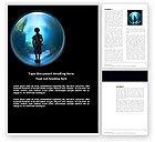 Education & Training: Public Aquarium Word Template #03758