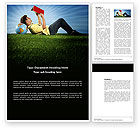 Education & Training: Reading Student Word Template #03762