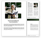 Education & Training: Lecturer Word Template #03774