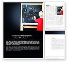 Education & Training: School Start Word Template #03780