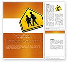 Education & Training: Modèle Word de passage scolaire #03784