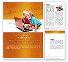 Education & Training: 워드 템플릿 - 장거리 컴퓨터 교육 #03793