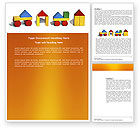 Education & Training: Construction Kit Word Template #03803